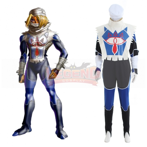 The Legend of Zelda Sheik Cosplay Costume outfit custom made  sc 1 th 225 & Cosplay CostumeAnime CostumeMedieval dress Cosplay